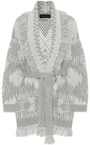 Alanui Exclusive to Mytheresa Icon wool and linen-blend cardigan