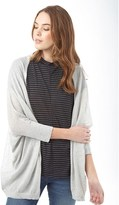 Jacqueline De Yong Womens Amelia Cardigan Light Grey Melange