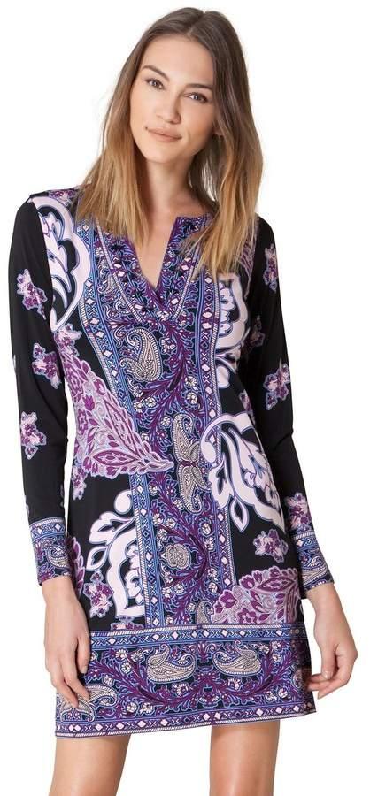 Hale Bob Panthea Beaded Jersey Dress
