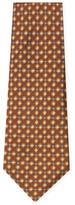 Chanel Vintage Brown Diamond Silk Tie