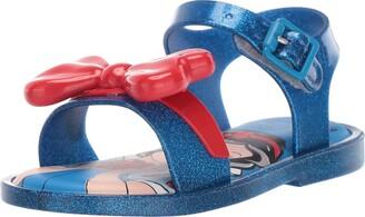 Mini Melissa Girls' Mini MAR Sandal + Snow White Slipper