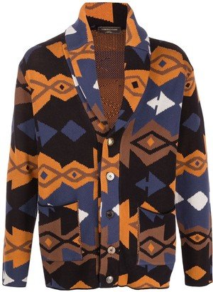 Gabriele Pasini Abstract-Pattern Knitted Jacket
