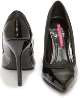 C Label Luxe 11 Black Patent Pointed Pumps