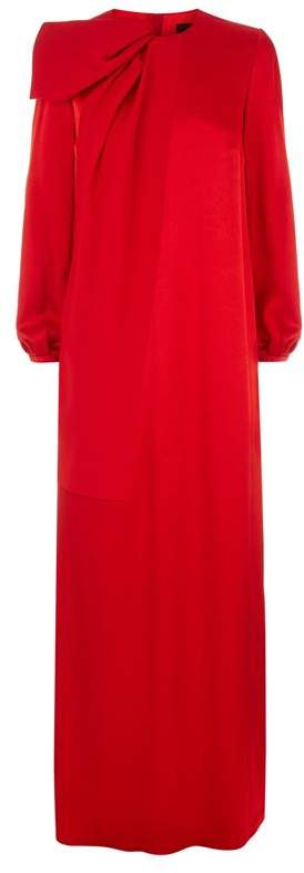 Paule Ka Fold Detail Gown