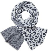 Scotch & Soda Jacquard Knit Animal Scarf
