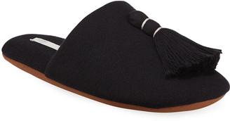Skin Vara Tasseled Knit Slipper with Cooling Material