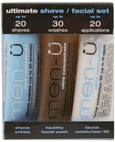 Menu Men-U Set 3 x 15ml - Ultimate Shave/ Facial Set