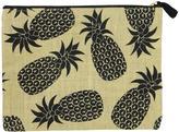 Mud Pie Burlap Pineapple Carry All