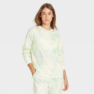 Stars Above Women's Tie-Dye Beautifully Soft Fleece Lounge Sweatshirt - Stars AboveTM