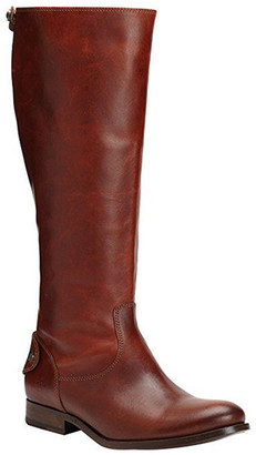 Frye Women's Casual boots Cognac - Cognac Melissa Button-Back Leather Boot - Women