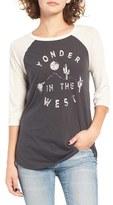 Billabong Women's Yonder West Graphic Baseball Tee