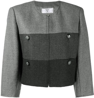 Valentino Pre-Owned 1980's Straight Cropped Jacket