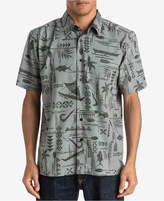 Quiksilver Waterman Men's Aberdeen Graphic-Print Shirt