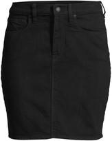 Hudson Jeans Lulu Denim Pencil Skirt