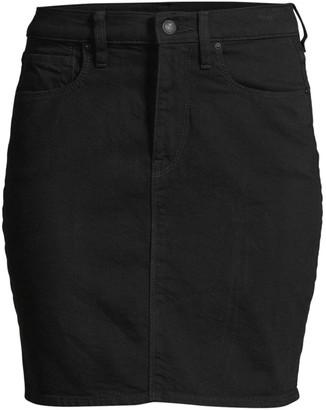 Hudson Lulu Denim Pencil Skirt