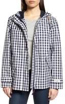 Joules Right as Rain Print Waterproof Hooded Jacket