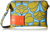 Orla Kiely Damask Flower Textured Vinyl Poppy