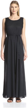James & Erin Women's Sleeveless Maxi Dress