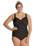 Miraclesuit Plus Size Solid Sanibel One Piece Swimsuit 8123679