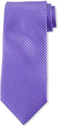 Charvet Men's Dots & Dashes Silk Tie
