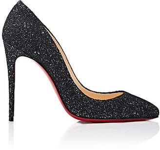 Christian Louboutin Women's Pigalle Follies Glitter Pumps - Black