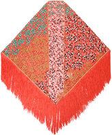 Missoni fringed scarf - women - Rayon - One Size