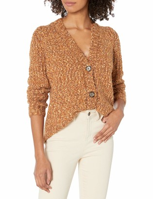 Kensie Women's Twisted Boucle Cardigan