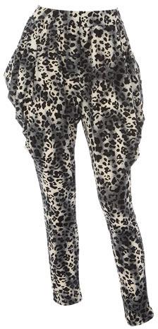 Dorothy Perkins Animal print drape trousers