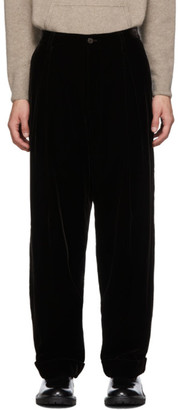 Giorgio Armani Brown Velvet Trousers