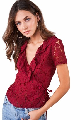 Sugar Lips Sugarlips Women's LACE Blouse