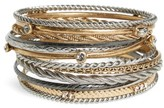 Treasure & Bond Women's Set Of 11 Bangles