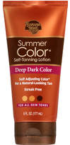 Banana Boat Sunless Summer Color Self Tanning Lotion, Deep Dark