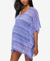 A Pea in the Pod Maternity Striped Cover-Up