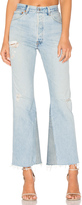RE/DONE Levis Leandra High Rise Crop Flare