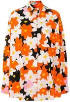 Kenzo Jackie Flowers Oversized shirt