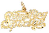 Clevereve 14K Gold Something Special Charm 0.9 - Gram(S)