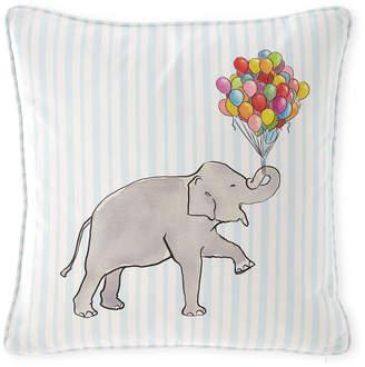 "Cloth & Company x Gray Malin Elephant Stripe Pillow, 20"""