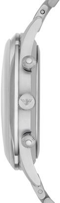 Emporio Armani Beta Stainless Steel Chronograph Watch