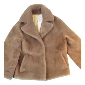 Anne Vest Brown Shearling Jackets