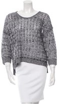 Inhabit Linen Open Knit Sweater w/ Tags