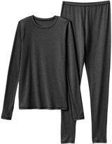 Cuddl Duds Girls 4-16 Long-Sleeved Tee & Leggings Set