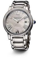 David Yurman Classic 38MM Stainless Steel Quartz Watch with Diamonds