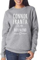 Hotscamp Big Boys' Connor Franta Is My Boyfriend Vlogger Star Merch Sweatshirt Age 12/13 36''