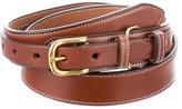 Michael Bastian Smooth Leather Belt
