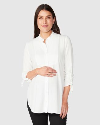 Pea In A Pod Maternity Liana Nursing Shirt