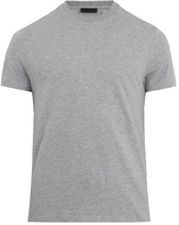Prada Set Of Three Crew-neck Cotton T-shirts