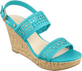 Liz Claiborne Kian Wedge Sandals