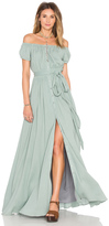 Mara Hoffman Off The Shoulder Maxi Dress
