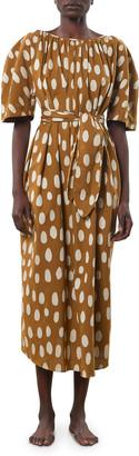 Mara Hoffman Aliz Printed Tie-Waist Dress