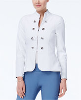XOXO Juniors' Zip-Front Peplum Jacket